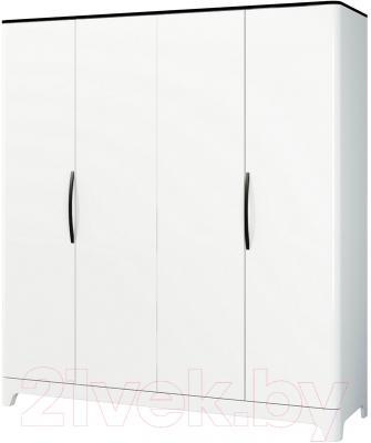 Шкаф Мебель-Неман Верона МН-024-04 (белый глянец)