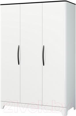 Шкаф Мебель-Неман Верона МН-024-03 (белый глянец)