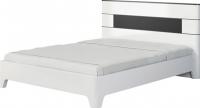 Двуспальная кровать Неман Верона МН-024-01 (белый глянец) -
