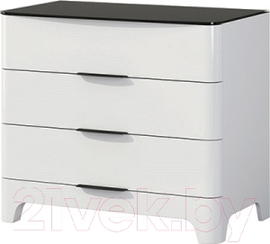 Комод Мебель-Неман Верона МН-024-06 (белый глянец)