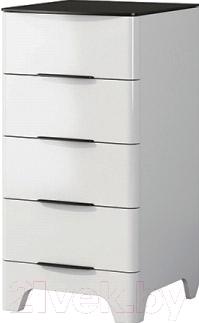 Комод Мебель-Неман Верона МН-024-11 (белый глянец)