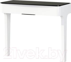 Туалетный столик Мебель-Неман Верона МН-024-07 (белый глянец)