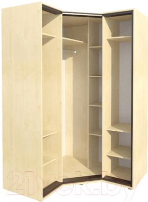 Шкаф Мебель-Неман Глория МН-210-08 (береза) - внутреннее пространство