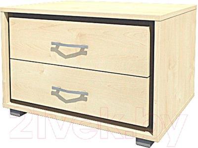 Прикроватная тумба Мебель-Неман Глория МН-210-02 (береза)