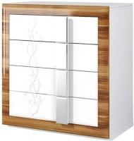 Комод Мебель-Неман Лотос МН-116-06 (белый глянец/груша глянец) -