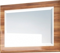 Зеркало интерьерное Мебель-Неман Лотос МН-116-08 (белый глянец/груша глянец) -