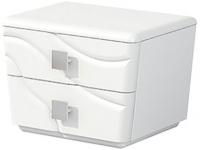 Прикроватная тумба Мебель-Неман Милана МН-119-02 (белый полуглянец) -