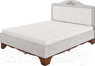 Двуспальная кровать Мебель-Неман Мэдисон МН-220-01 (северное дерево)