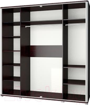 Шкаф Неман Наоми МН-021-04 (дуб Ниагара) - внутреннее пространство