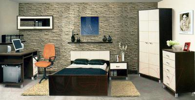 Компьютерный стол Мебель-Неман Домино Венге ВК-04-19 (береза/венге)