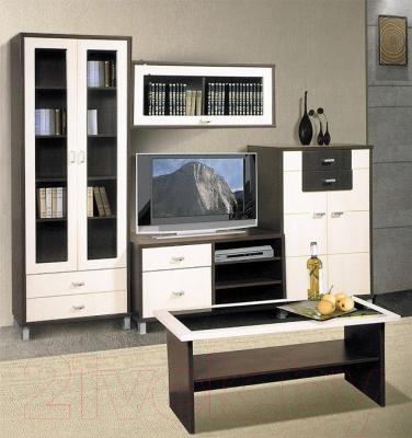 Журнальный столик Мебель-Неман Домино Венге ВК-04-18 (береза/венге)