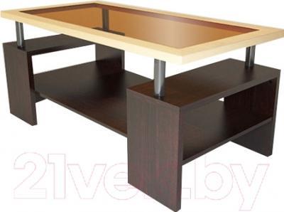 Журнальный столик Неман МН-204-03 (дуб Амари/береза)