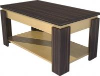 Журнальный столик Мебель-Неман МН-204-02 (хебан/береза) -