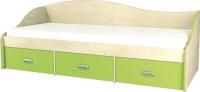 Односпальная кровать Неман Комби МН-211-02 (береза/лайм) -