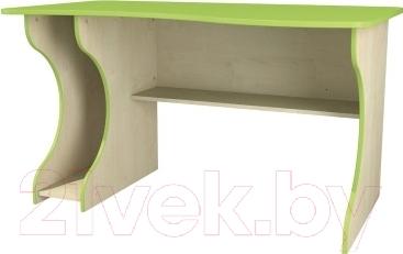 Компьютерный стол Неман Комби МН-211-05 (береза/лайм) - в зависимости от сборки, может быть левосторонним