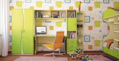 Компьютерный стол Мебель-Неман Комби МН-211-05 (береза/лайм)