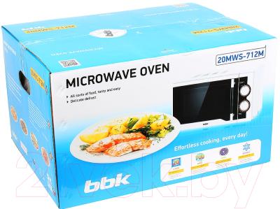 Микроволновая печь BBK 20MWS-712M/WB - коробка