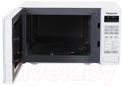 Микроволновая печь Panasonic NN-ST251WZTE - с открытой дверцей