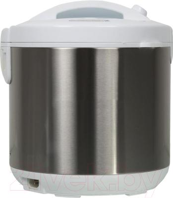 Мультиварка Marta MT-1972 (белый/сталь) - вид сзади