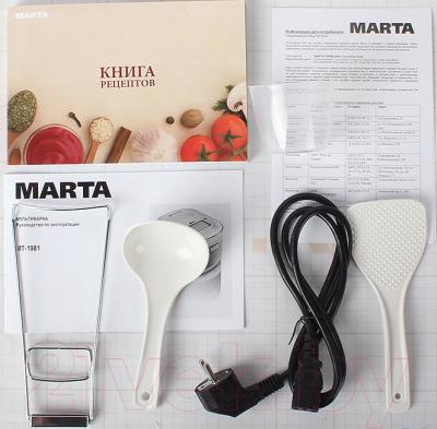 Мультиварка Marta MT-1981 (черный/красный) - комплектация