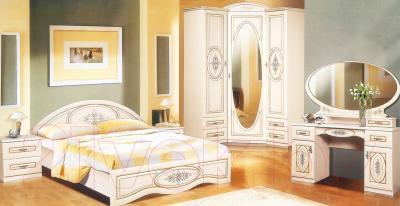 Зеркало интерьерное Мебель-Неман Василиса СП-001-08 (дуб беленый/патина) - в интерьере