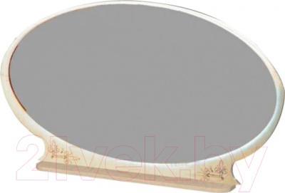 Зеркало интерьерное Мебель-Неман Василиса СП-001-08 (дуб беленый/патина)