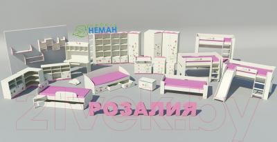 Двухъярусная кровать Мебель-Неман Розалия КРД180-1Д1