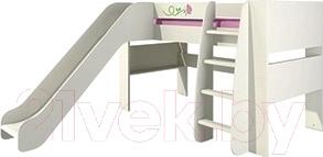 Односпальная кровать Мебель-Неман Розалия КРД120-2Д1