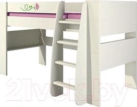 Односпальная кровать Мебель-Неман Розалия КРД120-1Д1