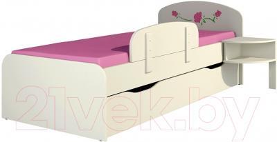 Бортик для кровати Неман Розалия/Сакура ЭД-2 - вместе с кроватью