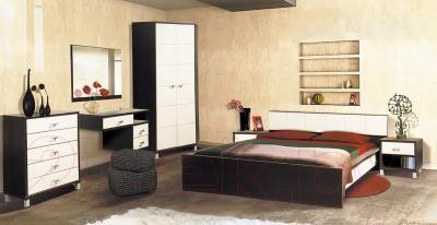 Туалетный столик Мебель-Неман Домино Венге ВК-04-20 (береза/венге) - коллекция Домино