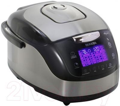 Мультиварка Marta MT-1989 Chef Pro (черный/сталь)