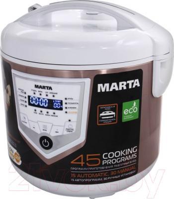 Мультиварка Marta MT-4301 (белый/шампань)