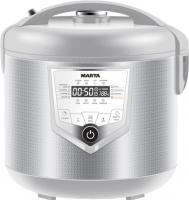 Мультиварка Marta MT-4308 (белый/сталь) -