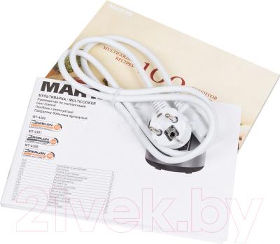 Мультиварка Marta MT-4308 (белый/сталь) - документы