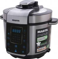 Мультиварка-скороварка Marta MT-4312 (черный/сталь) -
