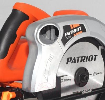 Дисковая пила PATRIOT CS210