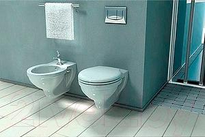 Сиденье для унитаза Santek Консул (WH106918) - в интерьере