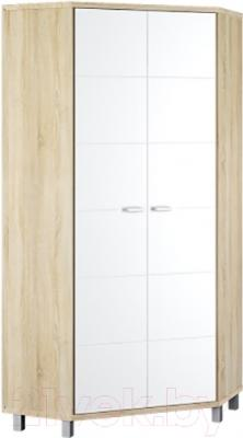 Шкаф Мебель-Неман Домино Сонома ВК-04-14 (белый полуглянец/дуб Сонома)