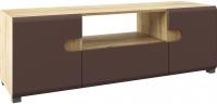 Тумба Мебель-Неман Леонардо МН-026-02 (св.-коричневый глянец/дуб Сонома) -