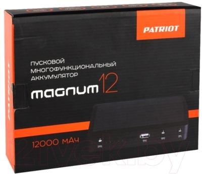 Портативное зарядное устройство PATRIOT Magnum 12