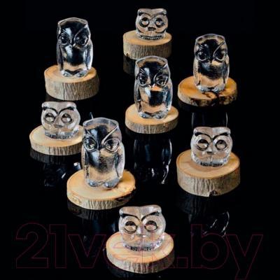 "Статуэтка Nachtmann Crystal Animals ""Сова"" маленькая (бирюза, хрусталь) - коллекция"