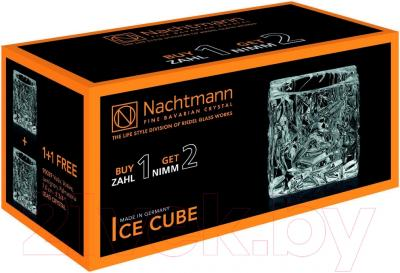 Набор подсвечников Nachtmann Ice Cube (2шт) - упаковка