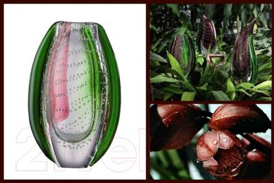 Ваза настольная Rosenthal Dewdrop Green-Violet (22 см) - дизайн коллекции