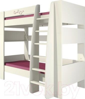 Двухъярусная кровать Неман Сакура КРД180-1Д0