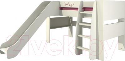 Односпальная кровать Мебель-Неман Сакура КРД120-2Д0
