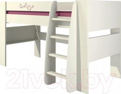 Односпальная кровать Мебель-Неман Сакура КРД120-1Д0