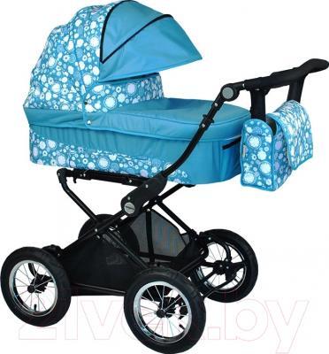 Детская универсальная коляска Babyhit Evenly 2 в 1 (аквамарин)