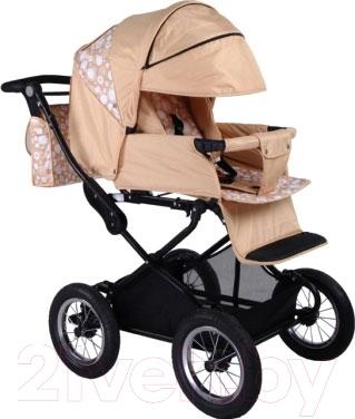 Детская универсальная коляска Babyhit Evenly 2 в 1 (бежевый)