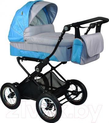 Детская универсальная коляска Babyhit Evenly 2 в 1 (голубой)